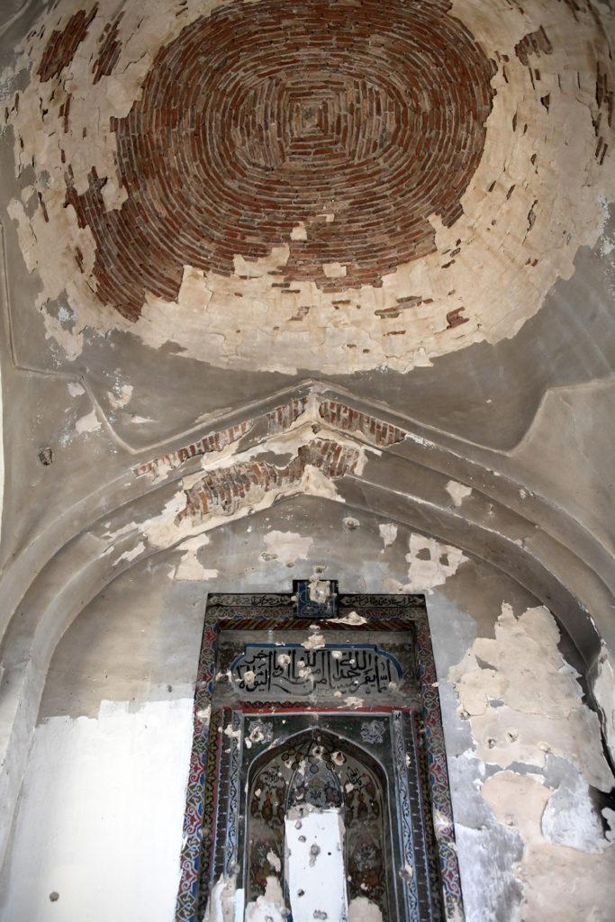 Mosquée délabrée dans le haut Karabagh