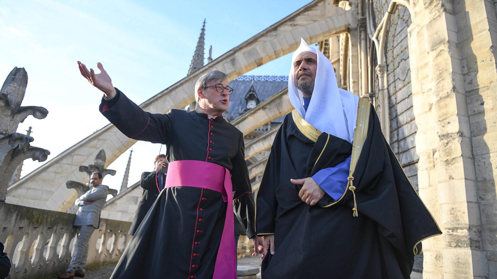 Mohammad Al-Issa à Notre-Dame