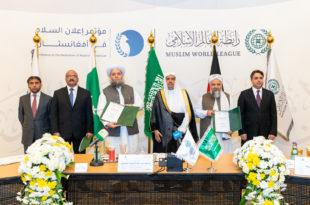 Déclaration de paix en Afghanistan