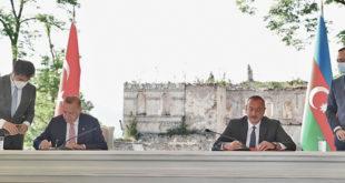 AZERBAÏJDAN-TURQUIE : LA DÉCLARATION DE CHOUCHA